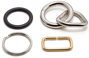 Zinc Die-Cast Loops and Rings
