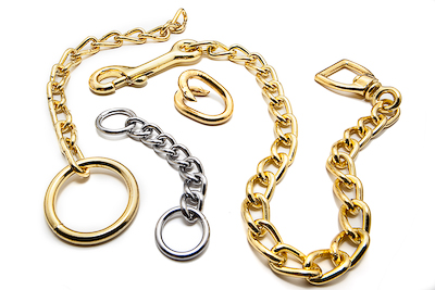 Brass and Nickel Plated Chains
